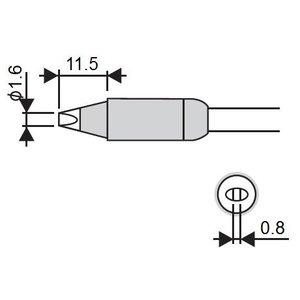 Soldering Iron Tip Goot RX-85HSRT-1.6D