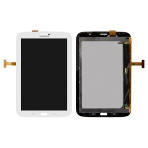 LCD for Samsung N5100 Galaxy Note 8.0 , N5110 Galaxy Note 8.0  Tablets, (version 3G , white, with touchscreen)