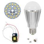 Juego de piezas para armar lámpara LED regulable SQ-Q17 5730 9 W (luz blanca fría, E27)