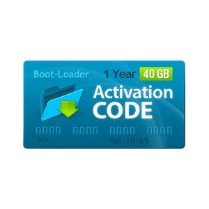 Активационный код Boot-Loader v2.0 (1 год, 40+5 ГБ)