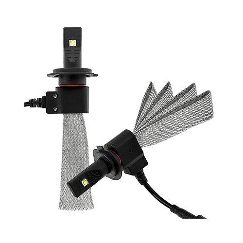 Набор светодиодного головного света UP-5HL-H7W-CR-2500Lm (H7, 2500 лм, холодный белый)
