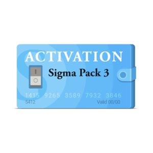 Активация Sigma Pack 3