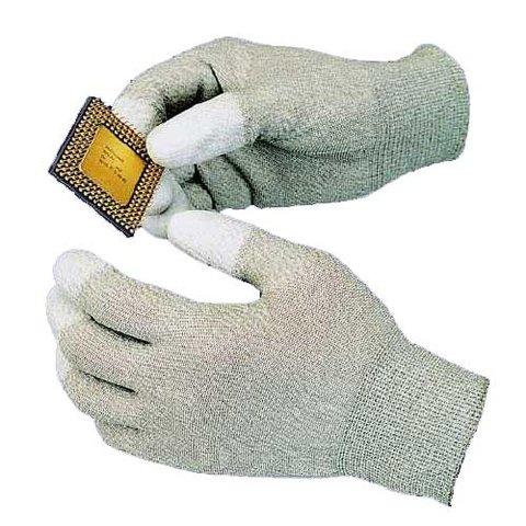 Антистатичні рукавиці з поліуретановими пальцями Goot WG 3S