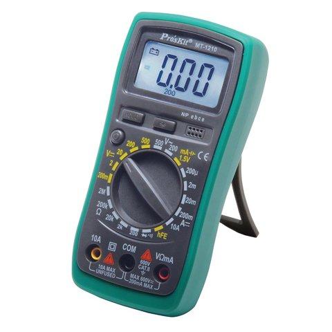 Цифровий мультиметр Pro'sKit MT 1210