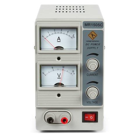 Лабораторний блок живлення Masteram MR1505C