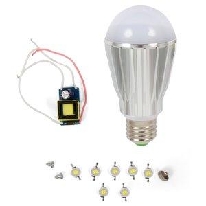 Комплект для збирання LED-лампи SQ-Q17 E27 7 Вт – теплий білий