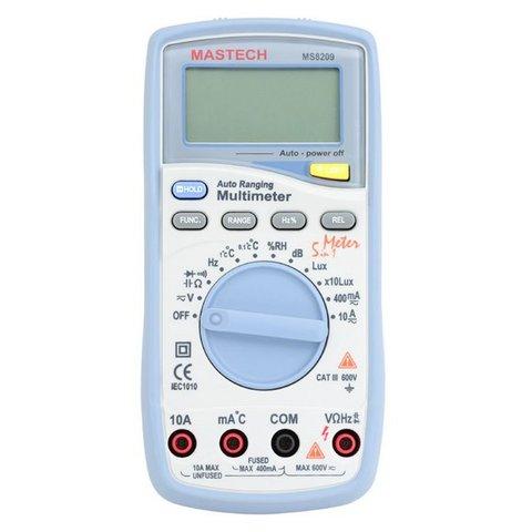 Цифровий мультиметр MASTECH MS8209