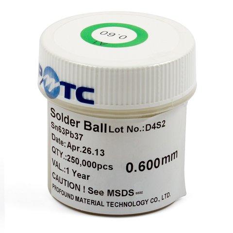 BGA Balls ACHI 0.6 mm
