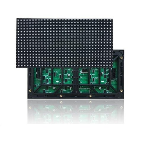 Módulo LED publicitario externo (RGB SMD1921, 256 × 128 mm, 64 × 32 puntos, IP65, 7200 nt)