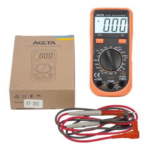 Digital Multimeter Accta AT 201